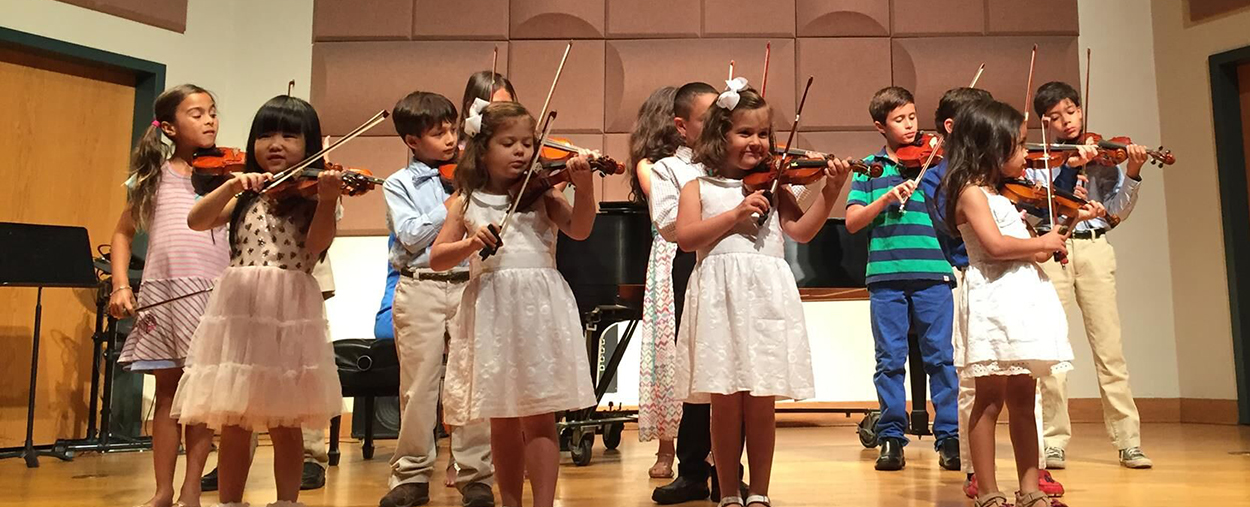 Children performing in the Frost Preparatory Program