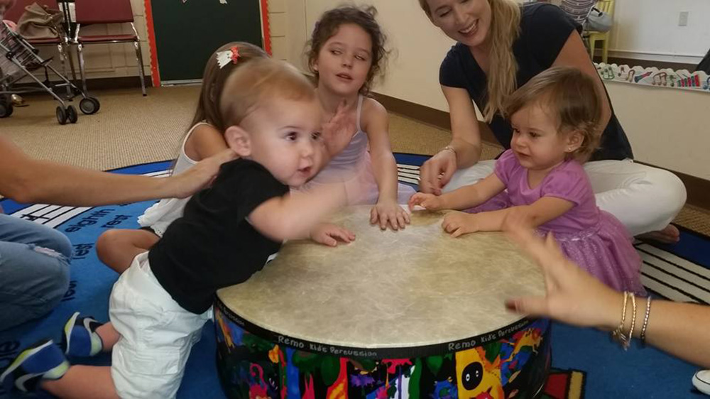 little canes class featuring drum